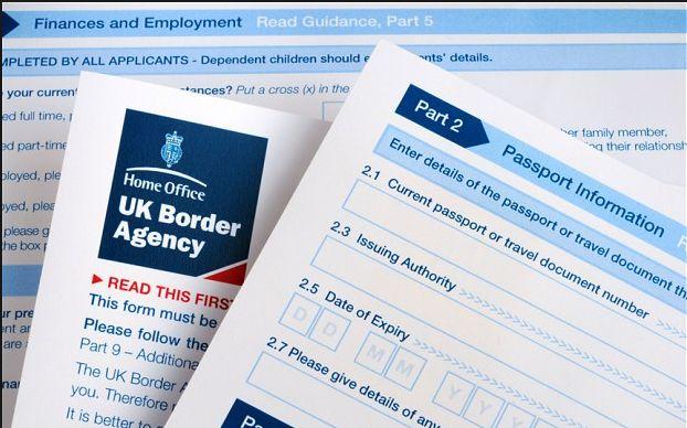 uk visa application form