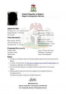 nigeria-visa-on-arrival-approval-letter