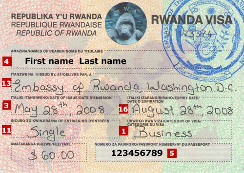 rwanda visa on arrival for nigerians